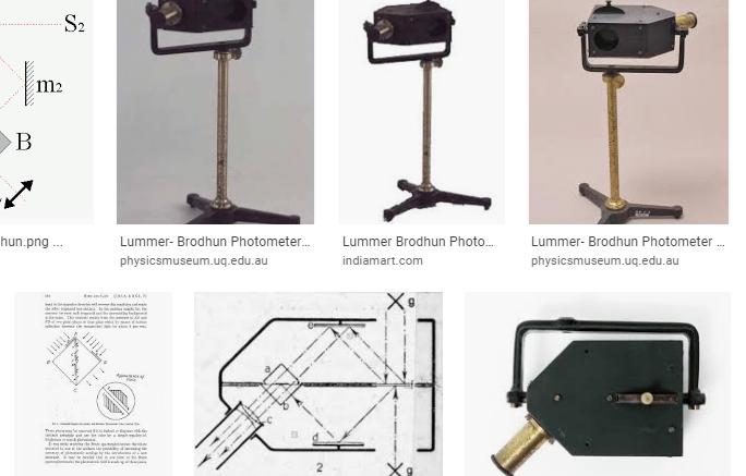 lummer - brodhun photometer